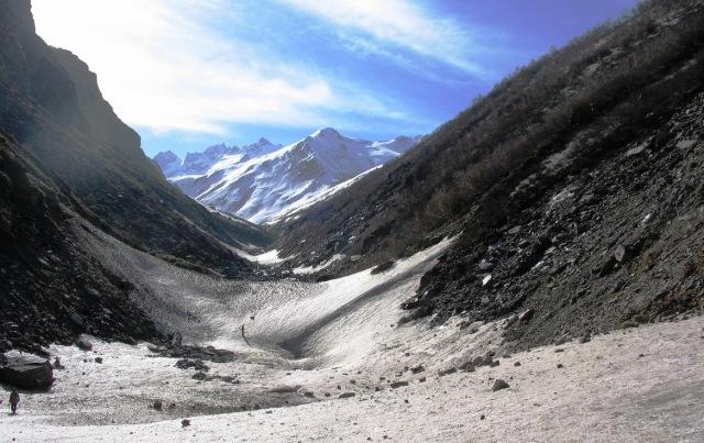 GHNP River. Origin of Tirthan river near Tirath, GHNP 3,900 m