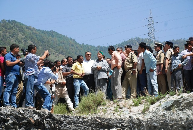 Himachal CM@Beas Tragedy Site: An enquiry or a cover up?