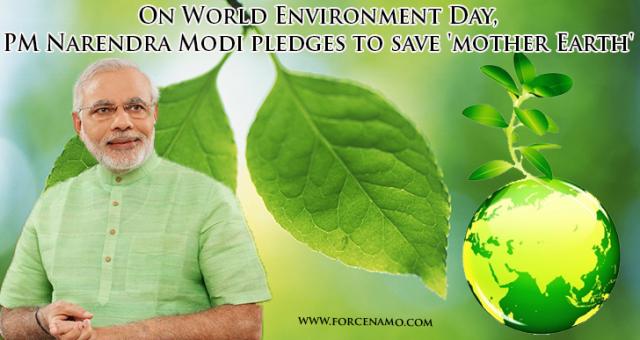 Modi & Environment