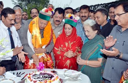 Virbhadra Singh turns 81