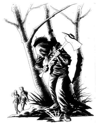 Axe Murders: Art Courtesy Ruben Martinez