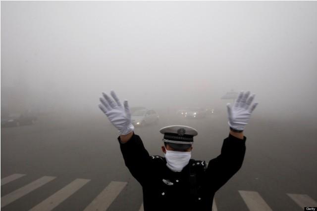 China Smog (Photo Courtesy Getty Images)