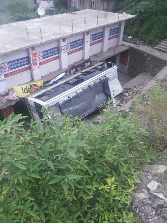 Dharighat bus accident