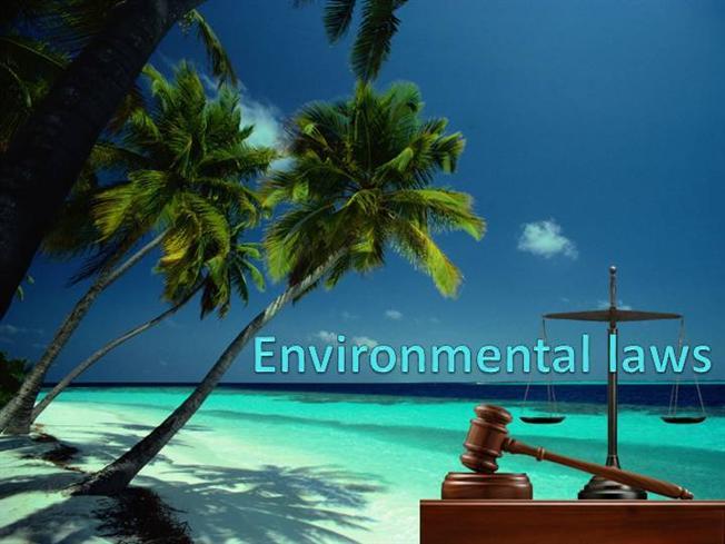 Environment laws