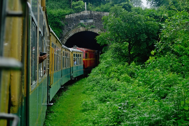 Shimla Kalka train Photo: Courtesy Wikipedia
