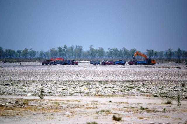 Mining Activity Photo by a Citizen Journalist