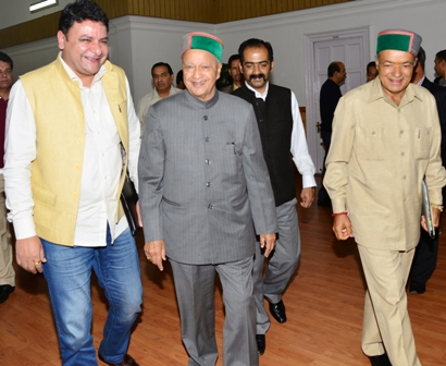 CM Virbhadra Singh going to attend the house today