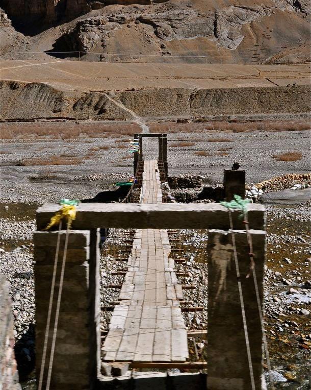 File Photo: A bridge across Pin river [Courtesy Debashis Dey]