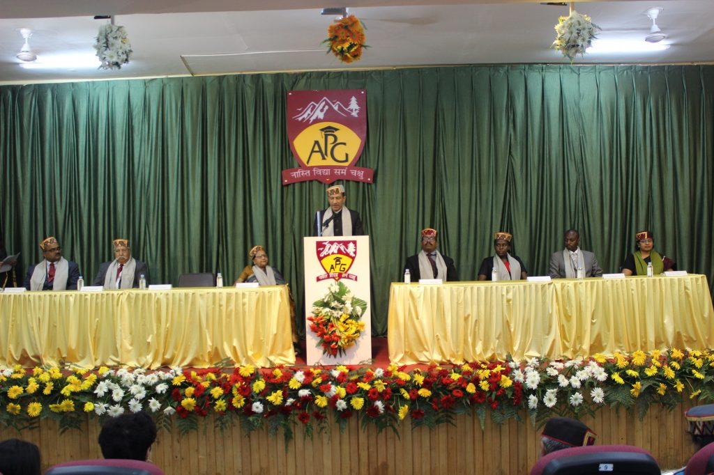 APG Shimla University holds inaugural convocation