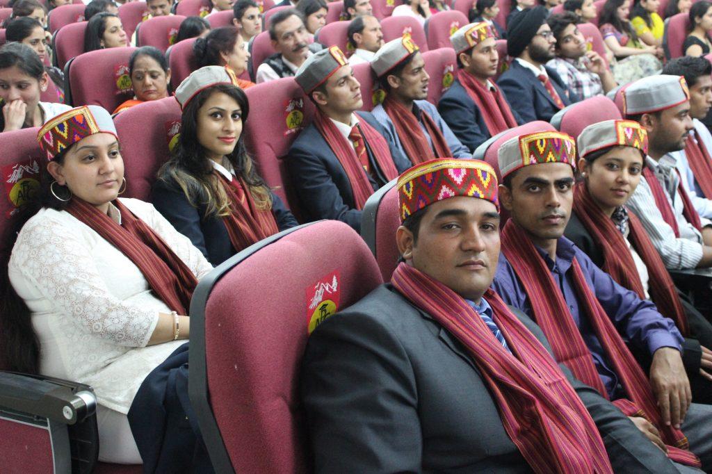 APG Shimla University confers PG degrees to 46 MBAs_2