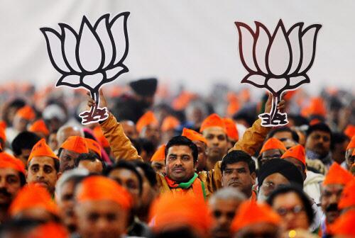 Saffron BJP