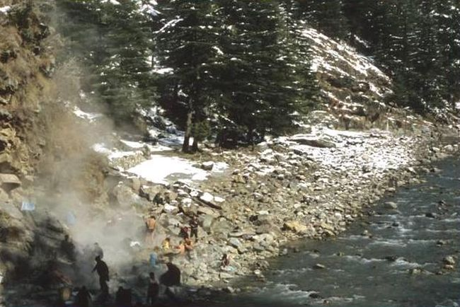 Kasol Hot Water Springs