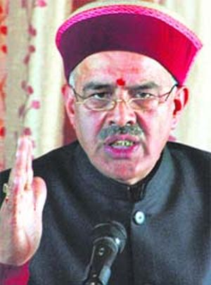 Virbhadra Singh government vindictive, nonperforming and irresponsible