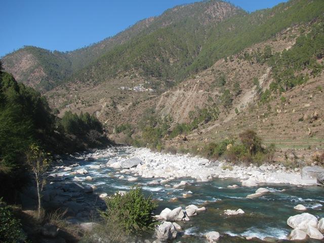 Pindar stream Uttarakhand