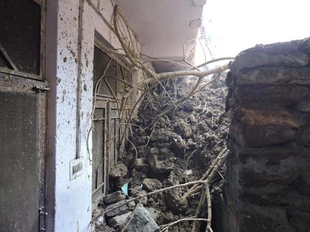 House damage Kullu