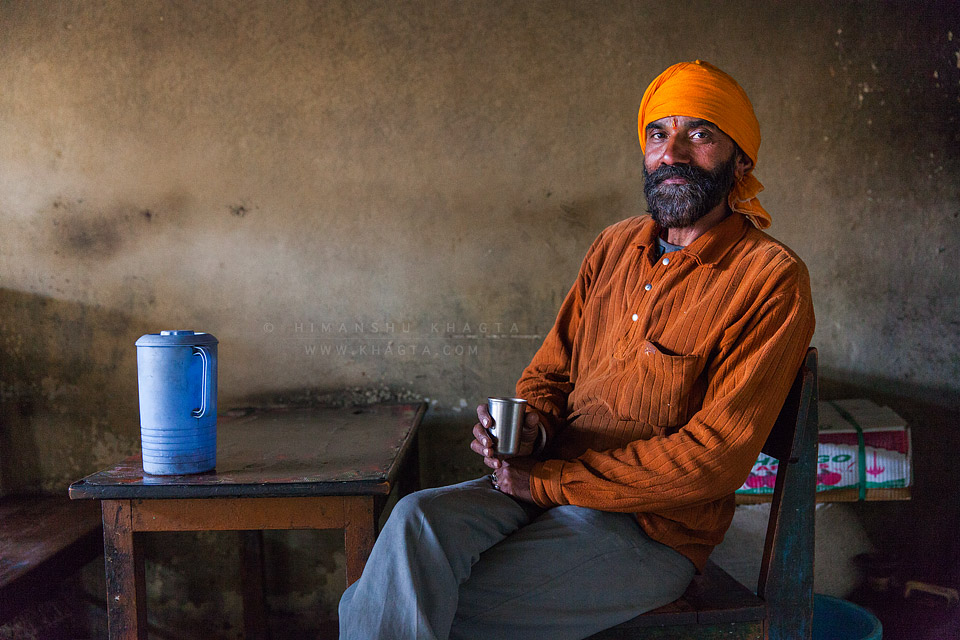 Una to Kaza? Its the climate damit - Madan Lal, who runs a summer tea shop since 1966