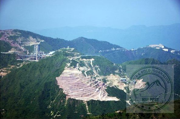 Hill top cement plant in Himachal Pradesh