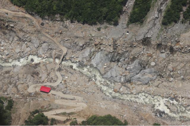 Restored road to Kedarnath (Photo Courtesy: Uttarakhand Tourism)