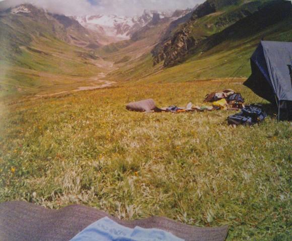 High altitude camp