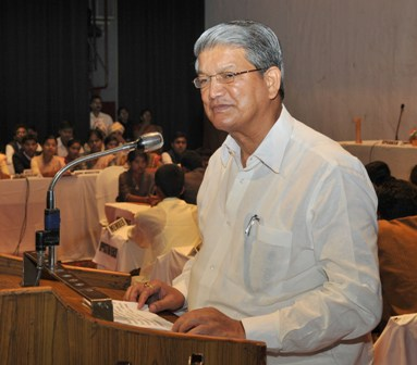 Chief minister Harish Rawat