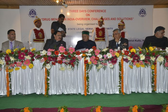 CM participating in the inauguaral session of three day  conference in Manali organized by HP State legal services authority under the aegis of National legal services autority